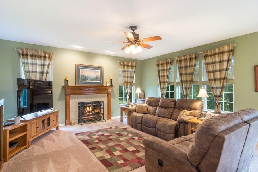 Real Estate Photography - 1017 Galena, volo, IL, 60073 - Family Room