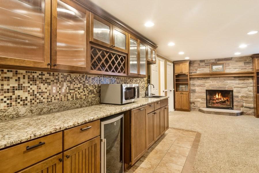 Real Estate Photography - 1017 Galena, volo, IL, 60073 - Bar