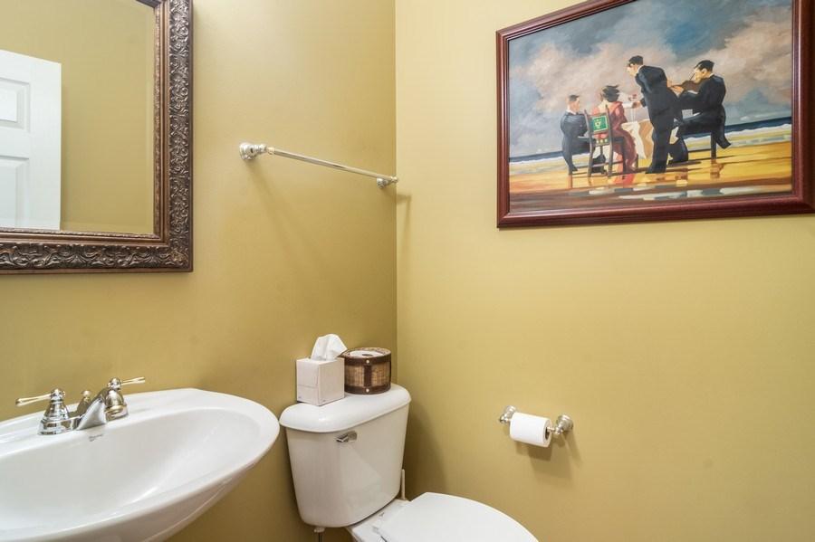 Real Estate Photography - 1017 Galena, volo, IL, 60073 - Half Bath