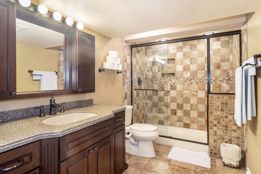 Real Estate Photography - 1017 Galena, volo, IL, 60073 - 2nd Bathroom