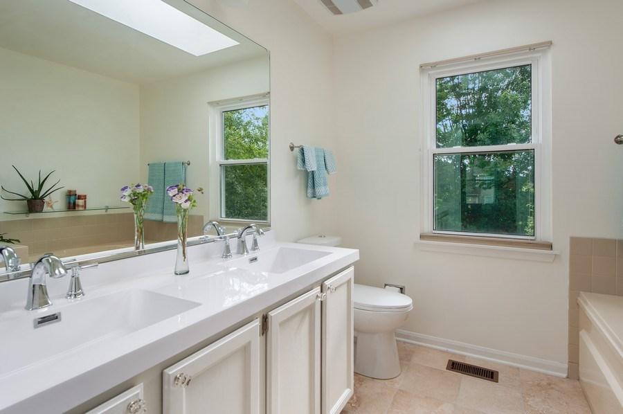 Real Estate Photography - 725 W Trail North, Grayslake, IL, 60030 - Master Bathroom