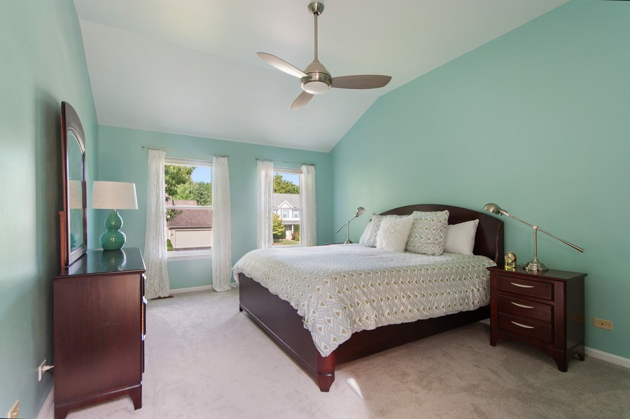 Real Estate Photography - 725 W Trail North, Grayslake, IL, 60030 - Master Bedroom