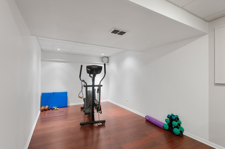Real Estate Photography - 725 W Trail North, Grayslake, IL, 60030 - Exercise Room