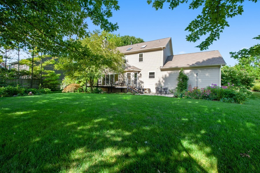 Real Estate Photography - 725 W Trail North, Grayslake, IL, 60030 - Rear View