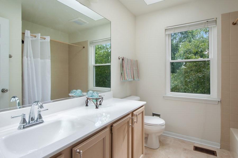 Real Estate Photography - 725 W Trail North, Grayslake, IL, 60030 - Bathroom