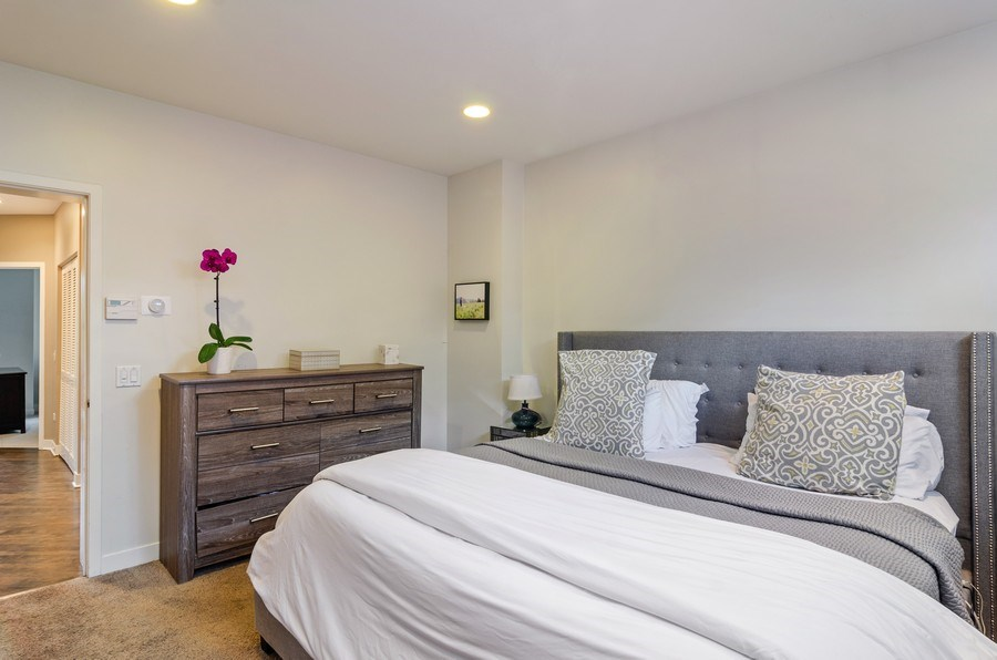Real Estate Photography - 2141 W. Churchill Street, Chicago, IL, 60647 - Master Bedroom