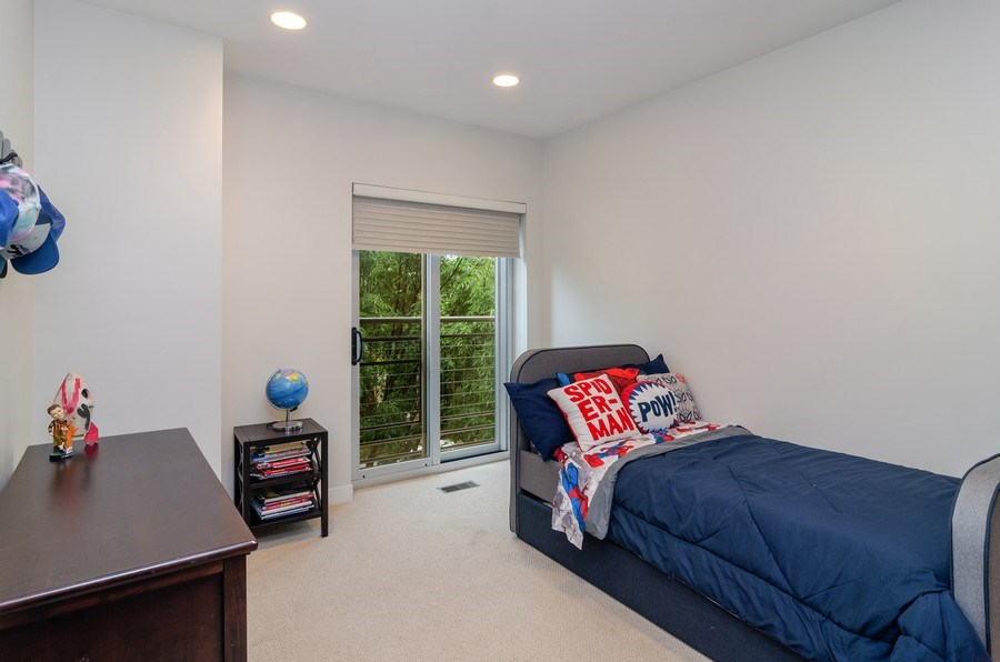 Real Estate Photography - 2141 W. Churchill Street, Chicago, IL, 60647 - Third Bedroom