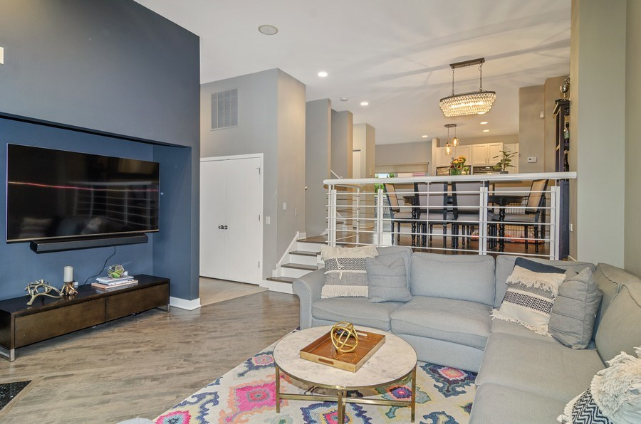 Real Estate Photography - 2141 W. Churchill Street, Chicago, IL, 60647 - Living Room
