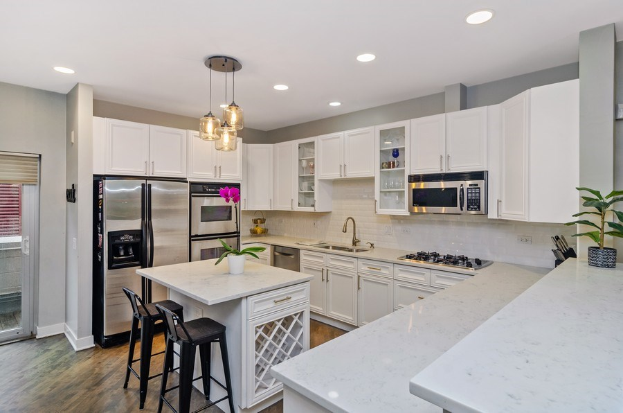 Real Estate Photography - 2141 W. Churchill Street, Chicago, IL, 60647 - Kitchen