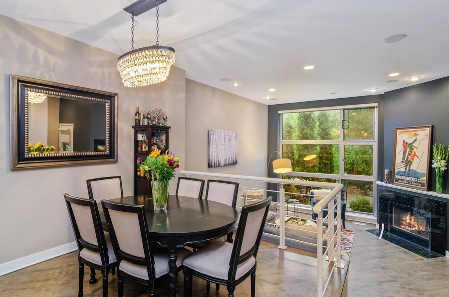 Real Estate Photography - 2141 W. Churchill Street, Chicago, IL, 60647 - Formal Dining Space