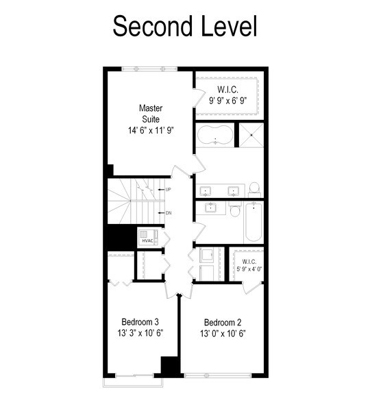 Real Estate Photography - 2141 W. Churchill Street, Chicago, IL, 60647 - Floor Plan