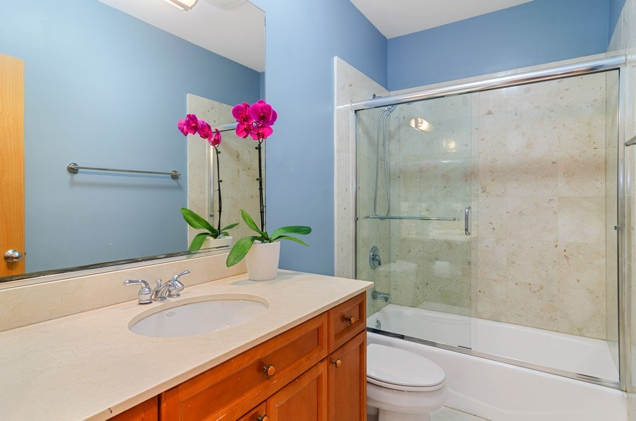 Real Estate Photography - 2141 W. Churchill Street, Chicago, IL, 60647 - Second Bathroom