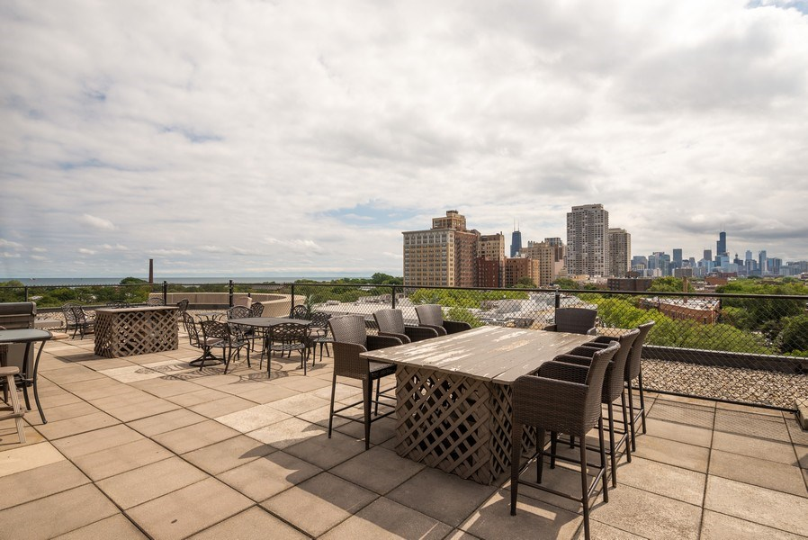 Real Estate Photography - 350 Belden, Chicago, IL, 60614 - Roof Deck