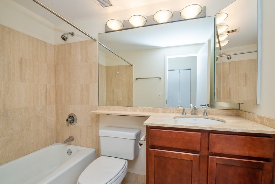 Real Estate Photography - 350 Belden, Chicago, IL, 60614 - Bathroom