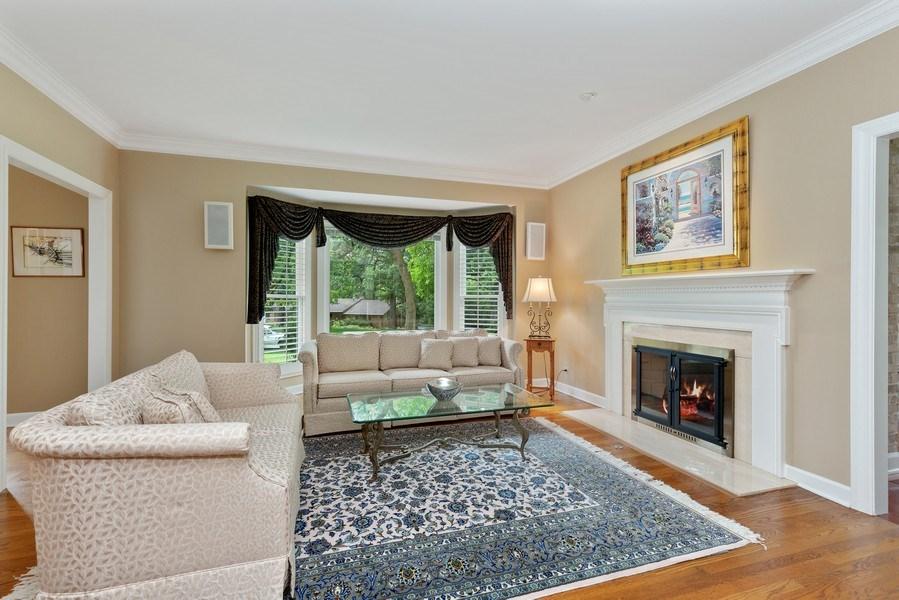 Real Estate Photography - 111 Woodland Drive, Lake Barrington, IL, 60010 - Living Room