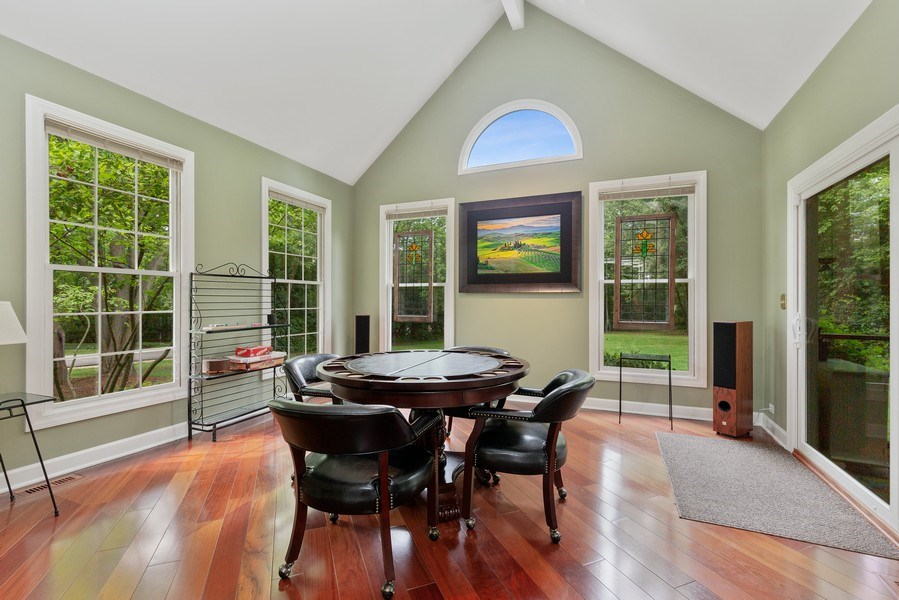 Real Estate Photography - 111 Woodland Drive, Lake Barrington, IL, 60010 - Sun / Florida Room Heated