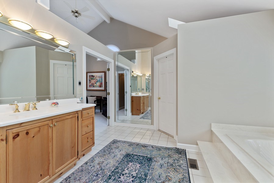Real Estate Photography - 111 Woodland Drive, Lake Barrington, IL, 60010 - Master Bathroom