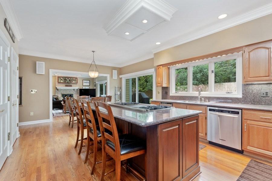 Real Estate Photography - 111 Woodland Drive, Lake Barrington, IL, 60010 - Kitchen