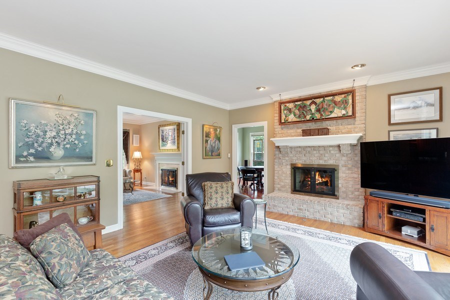 Real Estate Photography - 111 Woodland Drive, Lake Barrington, IL, 60010 - Family Room