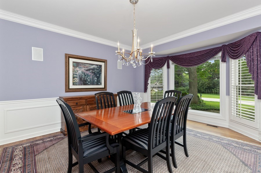 Real Estate Photography - 111 Woodland Drive, Lake Barrington, IL, 60010 - Dining Room