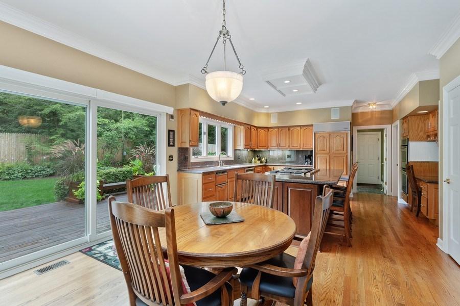 Real Estate Photography - 111 Woodland Drive, Lake Barrington, IL, 60010 - Breakfast Room