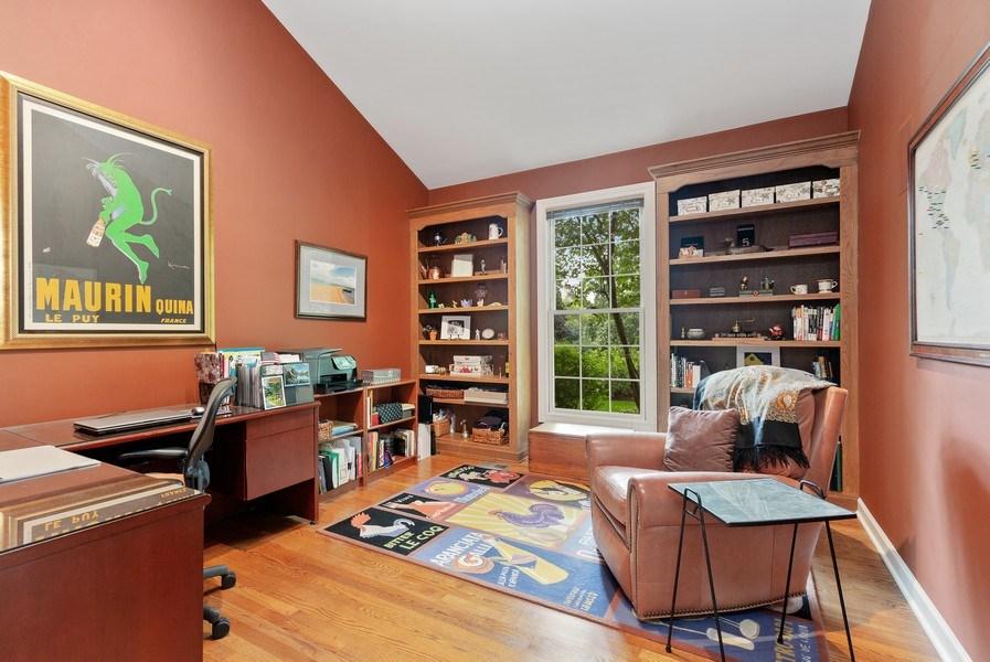 Real Estate Photography - 111 Woodland Drive, Lake Barrington, IL, 60010 - Study