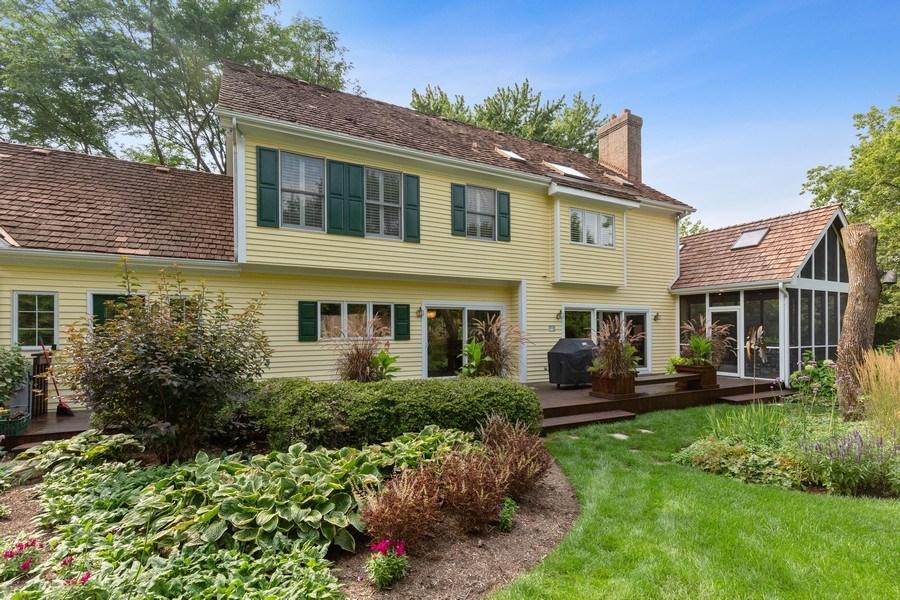 Real Estate Photography - 111 Woodland Drive, Lake Barrington, IL, 60010 - Rear View