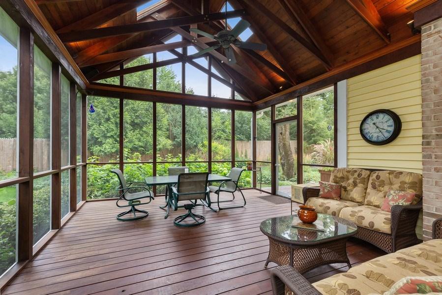 Real Estate Photography - 111 Woodland Drive, Lake Barrington, IL, 60010 - Screened Porch