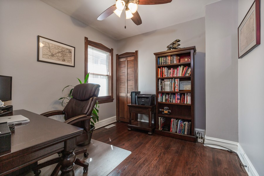 Real Estate Photography - 7940 W Fletcher St, Elmwood Park, IL, 60707 - 2nd Bedroom
