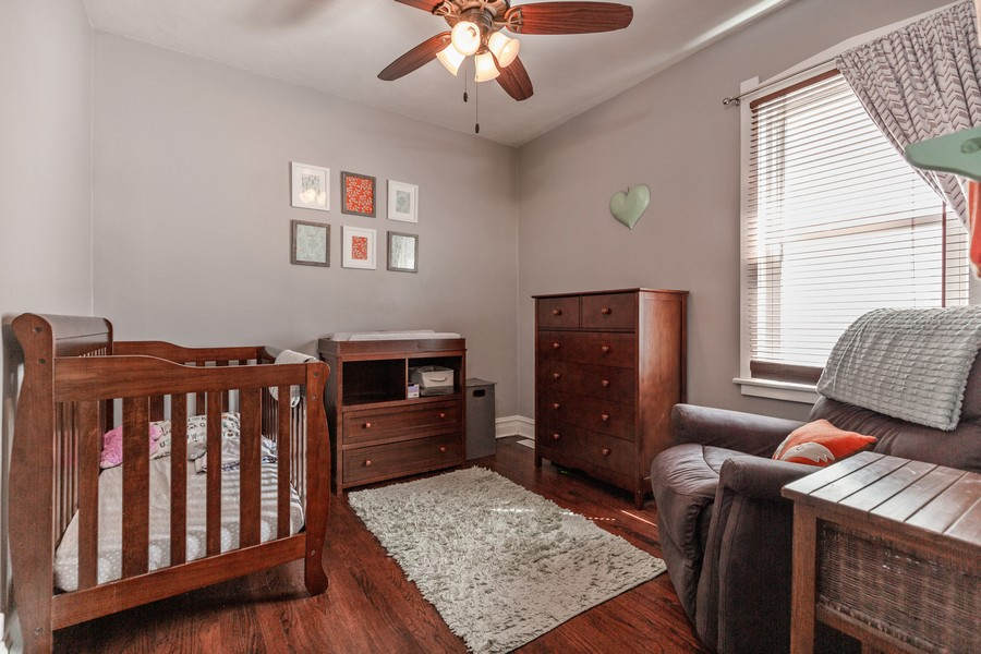 Real Estate Photography - 7940 W Fletcher St, Elmwood Park, IL, 60707 - 3rd Bedroom