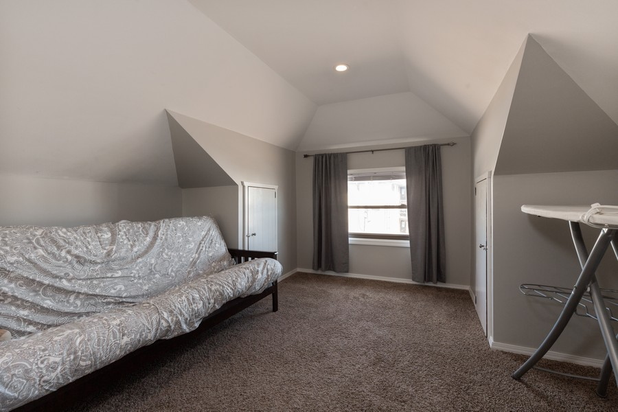 Real Estate Photography - 7940 W Fletcher St, Elmwood Park, IL, 60707 - Master Bedroom