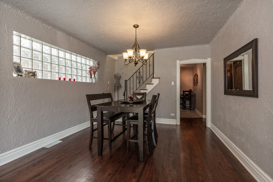 Real Estate Photography - 7940 W Fletcher St, Elmwood Park, IL, 60707 - Dining Room
