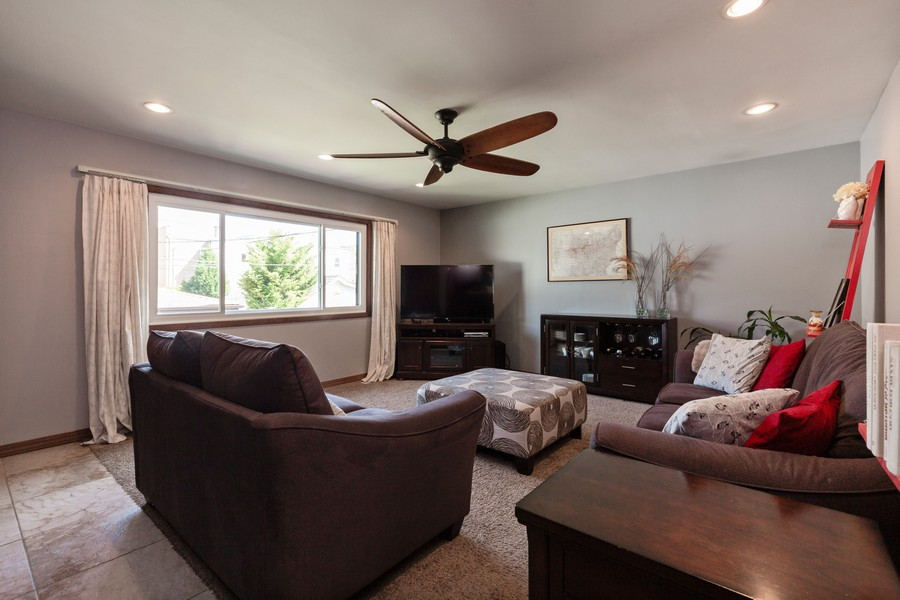 Real Estate Photography - 7940 W Fletcher St, Elmwood Park, IL, 60707 - Family Room