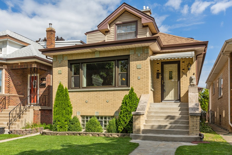 Real Estate Photography - 7940 W Fletcher St, Elmwood Park, IL, 60707 - Front View