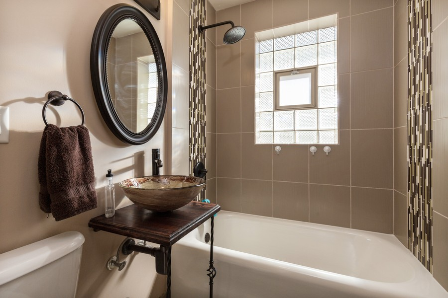 Real Estate Photography - 7940 W Fletcher St, Elmwood Park, IL, 60707 - Bathroom