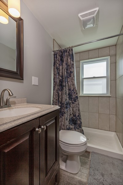 Real Estate Photography - 7940 W Fletcher St, Elmwood Park, IL, 60707 - 2nd Bathroom