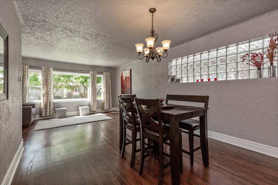 Real Estate Photography - 7940 W Fletcher St, Elmwood Park, IL, 60707 - Living Room / Dining Room