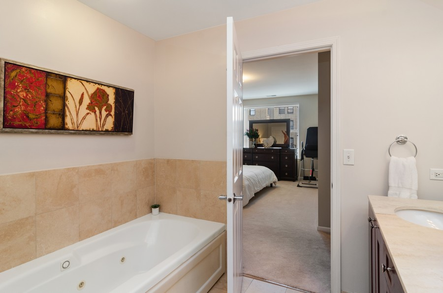 Real Estate Photography - 520 N. Halsted #308, Chicago, IL, 60622 - Master Bathroom