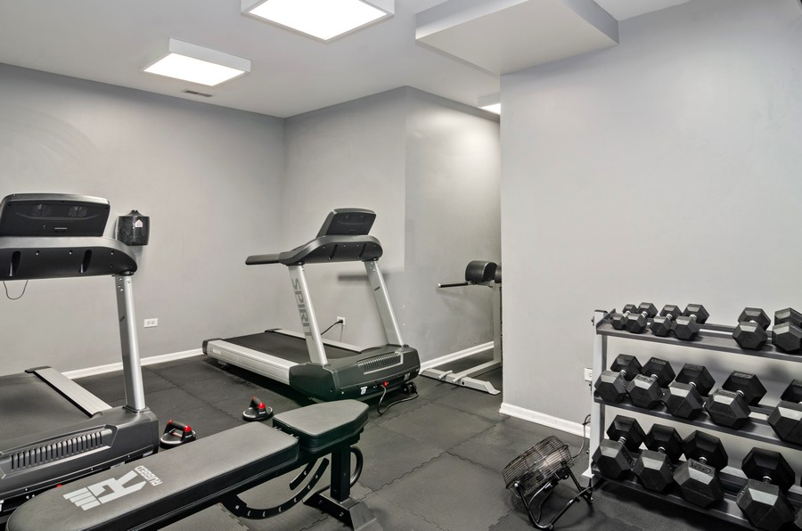 Real Estate Photography - 520 N. Halsted #308, Chicago, IL, 60622 - Fitness Room
