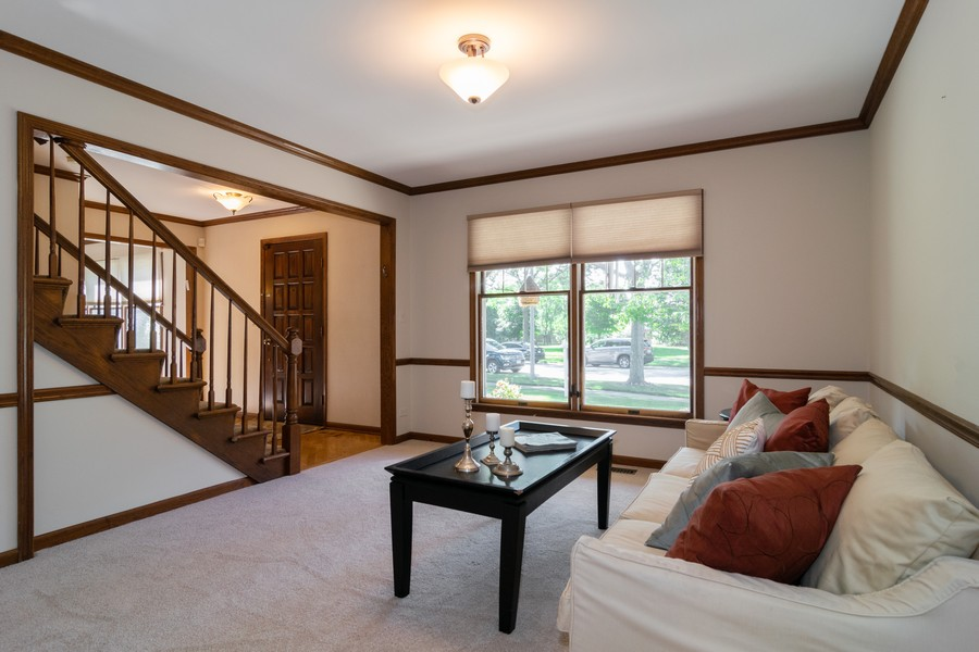 Real Estate Photography - 1508 Eton, Arlington Heights, IL, 60004 - Living Room