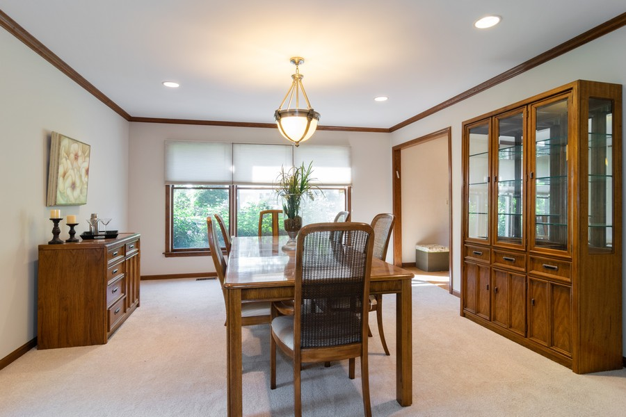 Real Estate Photography - 1508 Eton, Arlington Heights, IL, 60004 - Dining Room