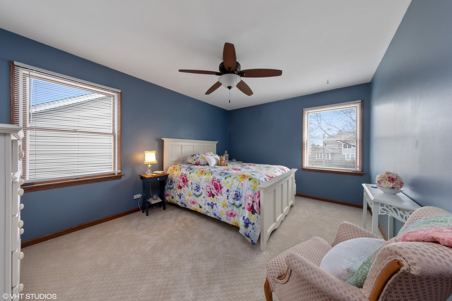 Real Estate Photography - 1508 Eton, Arlington Heights, IL, 60004 - Additional Bedroom