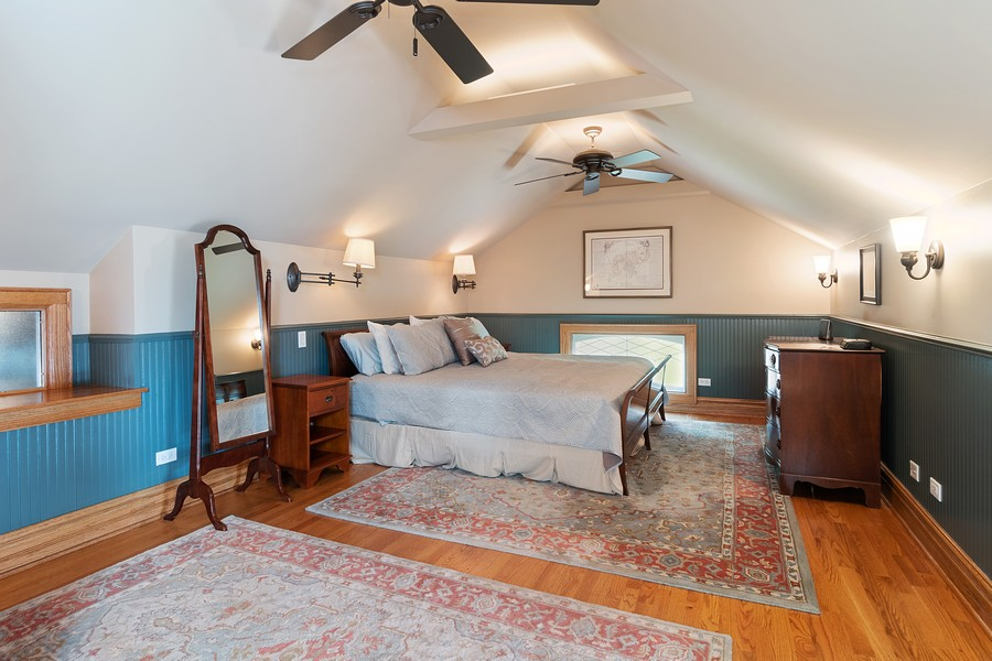 Real Estate Photography - 1023 Wenonah, Oak Park, IL, 60304 - Master Bedroom