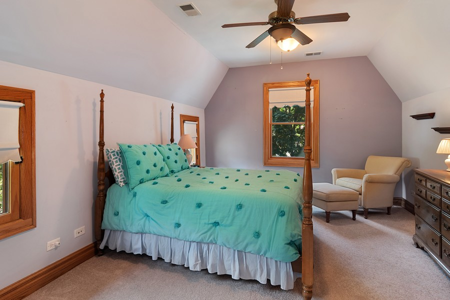 Real Estate Photography - 1023 Wenonah, Oak Park, IL, 60304 - 4th Bedroom