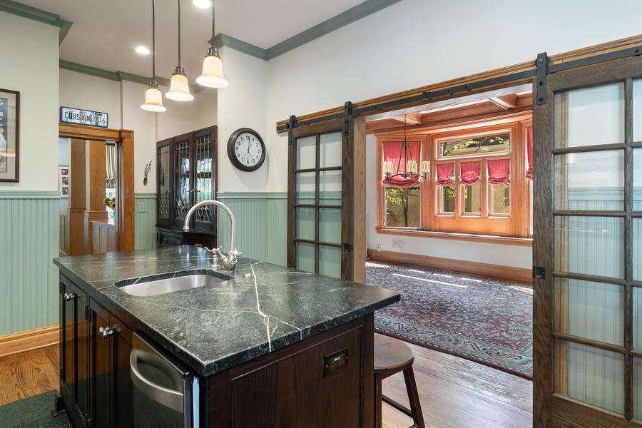 Real Estate Photography - 1023 Wenonah, Oak Park, IL, 60304 - Kitchen