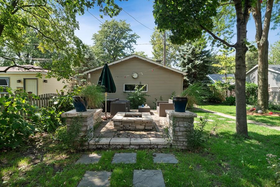 Real Estate Photography - 1023 Wenonah, Oak Park, IL, 60304 - Patio/Firepit