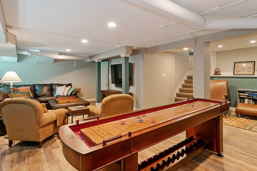 Real Estate Photography - 1023 Wenonah, Oak Park, IL, 60304 - Recreation Room