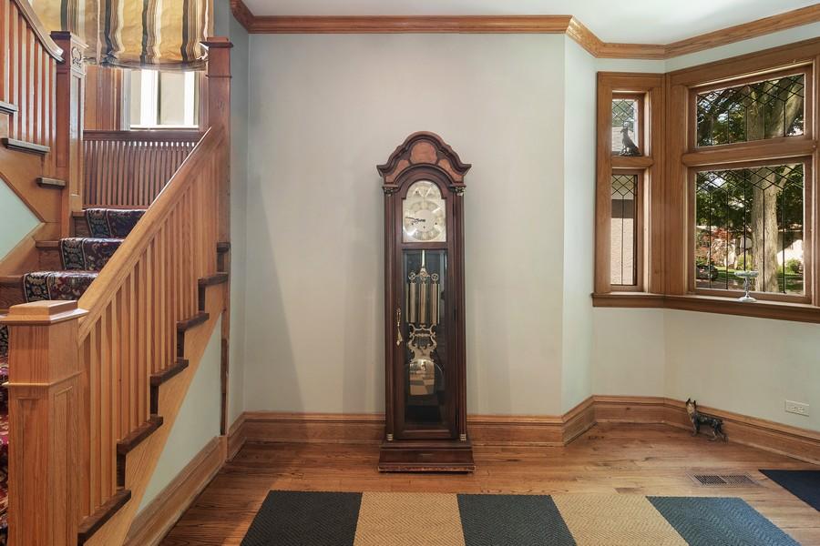 Real Estate Photography - 1023 Wenonah, Oak Park, IL, 60304 - Foyer