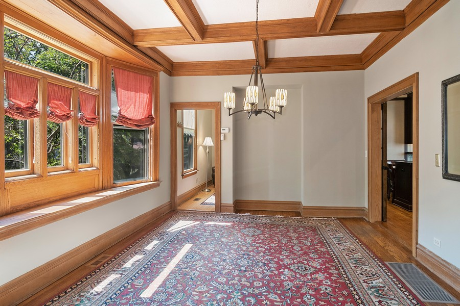 Real Estate Photography - 1023 Wenonah, Oak Park, IL, 60304 - Dining Room