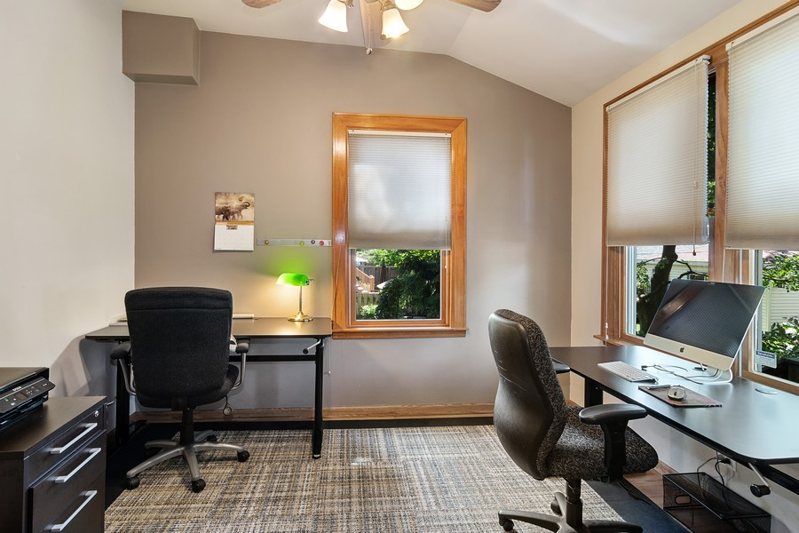 Real Estate Photography - 1023 Wenonah, Oak Park, IL, 60304 - 5th Bedroom/Office